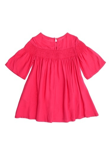 Pink&Orange Elbise Renkli